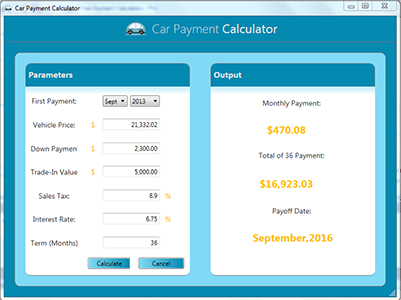 Car Finance Payment Calculator >> Free Payment Calculators Free Car Payment Calculator